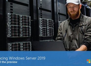 Windows Server 2019 arrive bientôt !